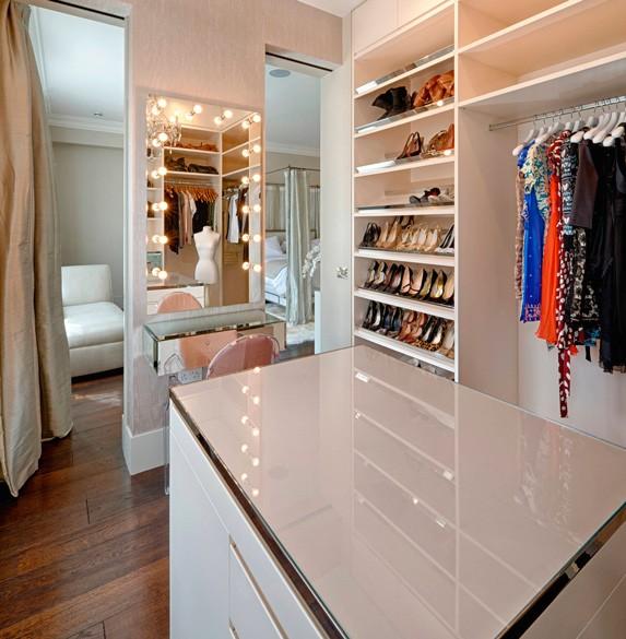 гардеробные на заказ по индивидуальным размерам