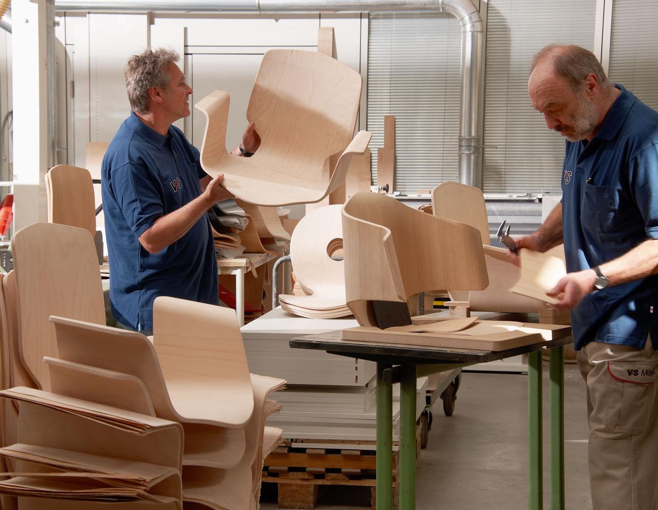 деревянный стул ручной работы