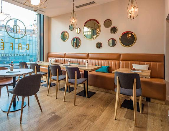 модульные диваны для кафе и ресторанов