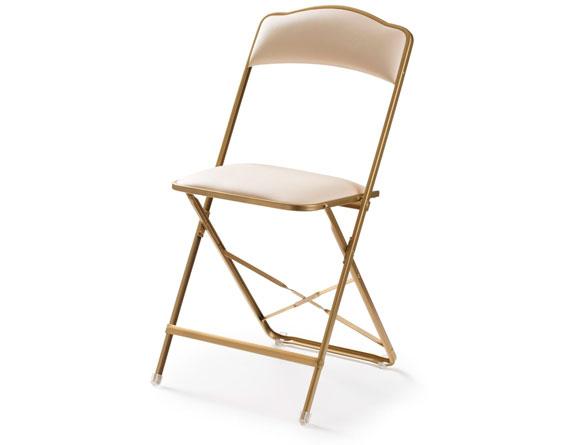 стул металлический складной со спинкой